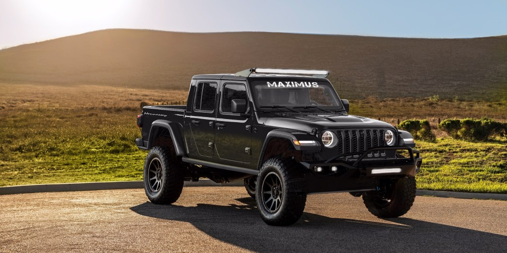 Hennessey Jeep Gladiator 1000 Race Red Media