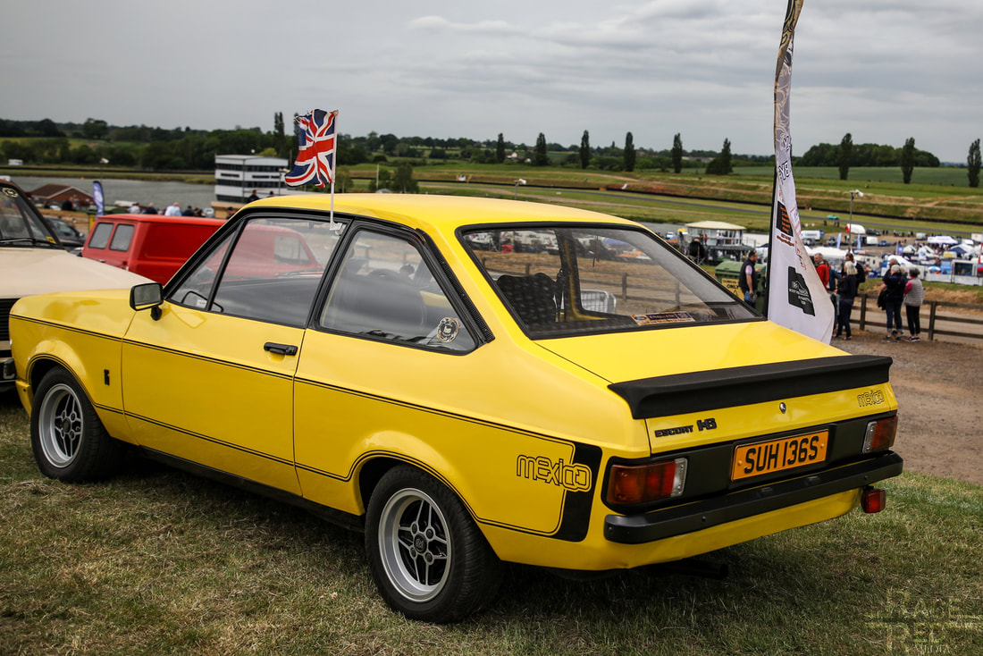 Classic Ford Show 2019 Ford Escort 1600 Mexico SUH136S