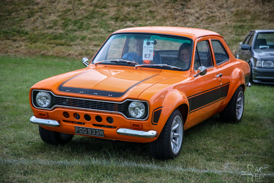 Classic Ford Show 2019 Ford Escort POO933M