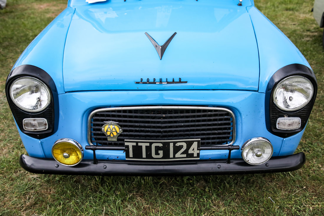 Classic Ford Show 2019 Ford 100e TTG124
