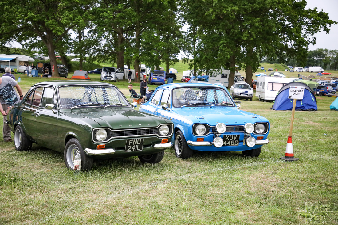 Classic Ford Show 2019 Camping