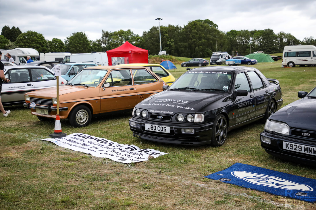 Classic Ford Show 2019 Sierra's 'R' Us