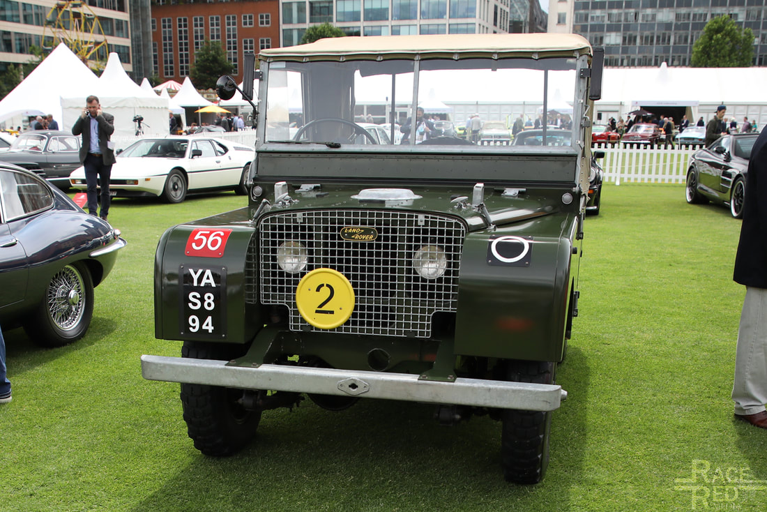 London Concours Land-Rover 80 Series 1 1949
