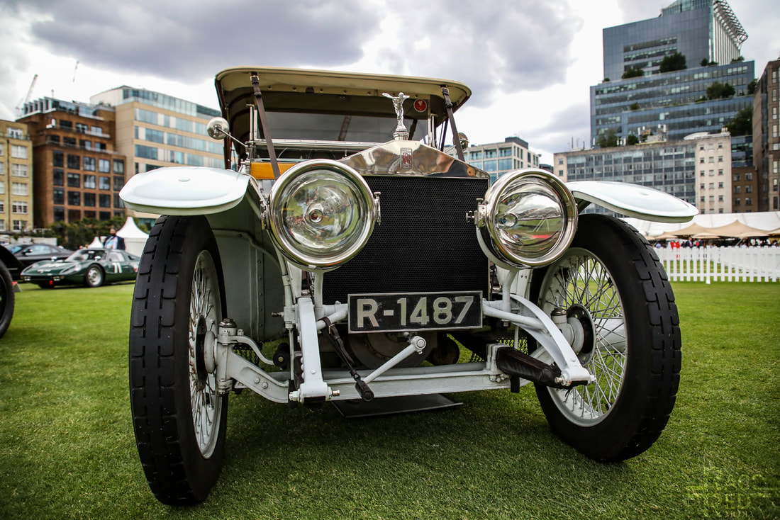 London Concours Rolls-Royce Silver Ghost ' Nellie' 1912