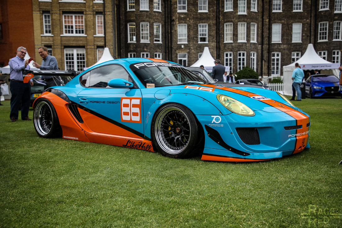 London Concours Porsche Cayman S Turbo by Viking 2007