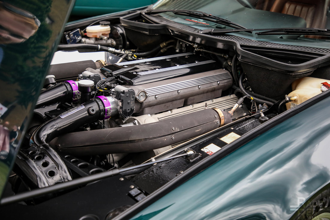 London Concours Aston Martin Vitage 7.0 Litre Turbo by Lynx 1994 engine
