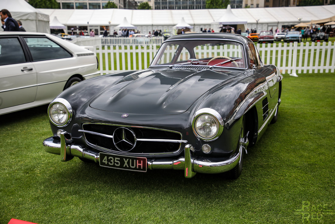 London Concours Mercedes-Benz 300 SL Gullwing 1955