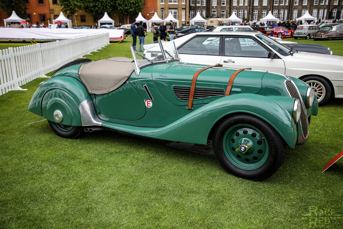 London Concours BMW 328 1938