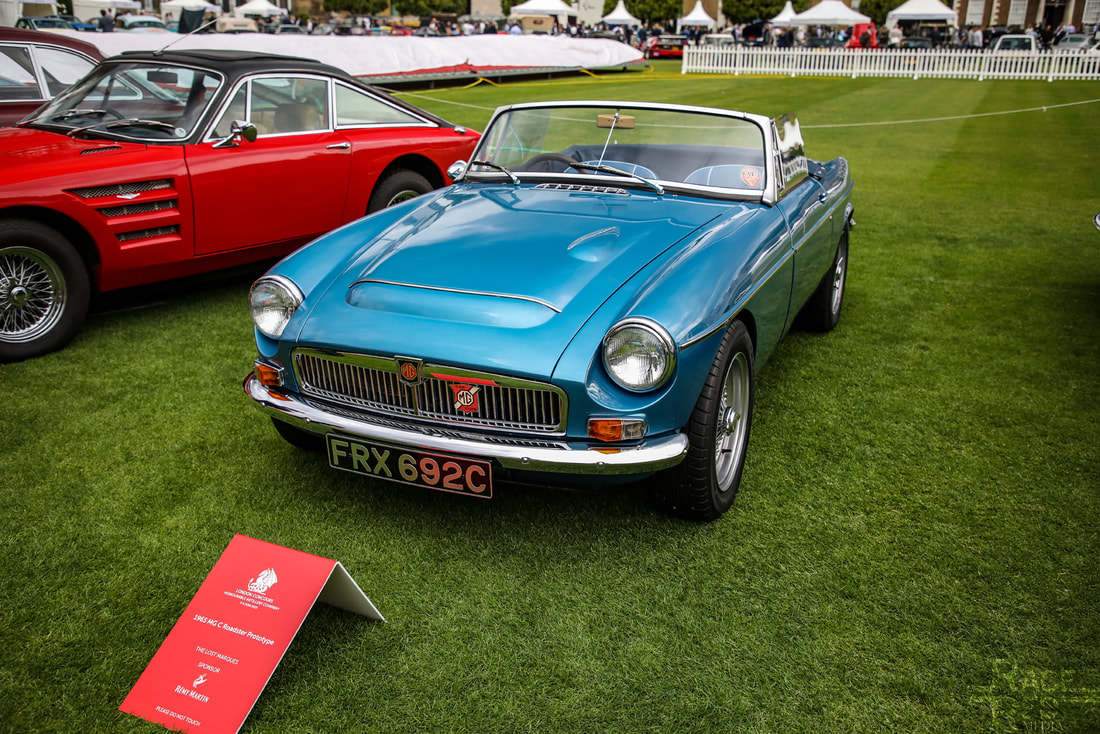 London Concours MGC Roadster Prototype 1965