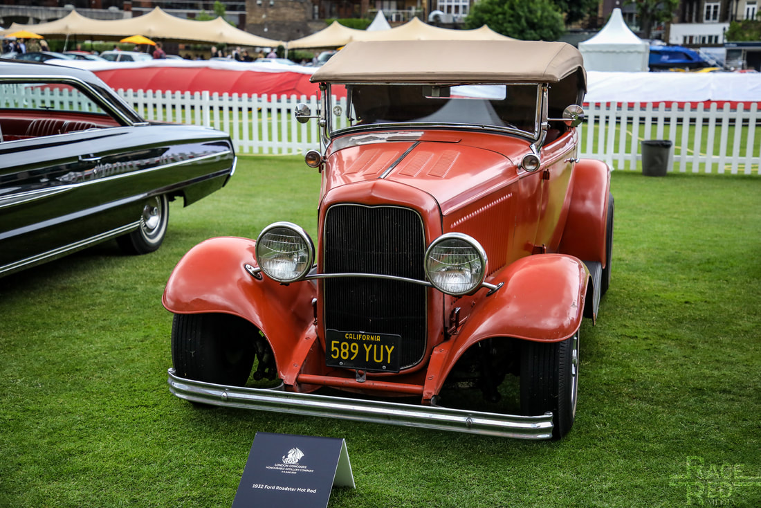 London Concours Ford Roadster Hot Rod 1932