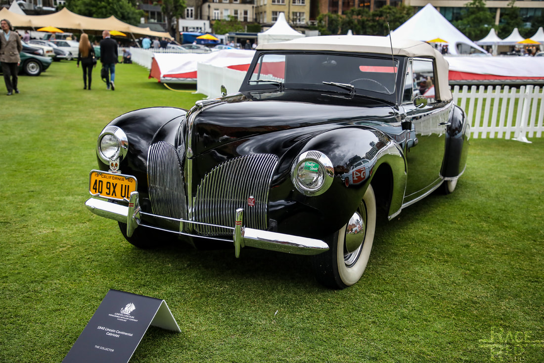 London Concours Lincoln Continental Cabriolet 1940