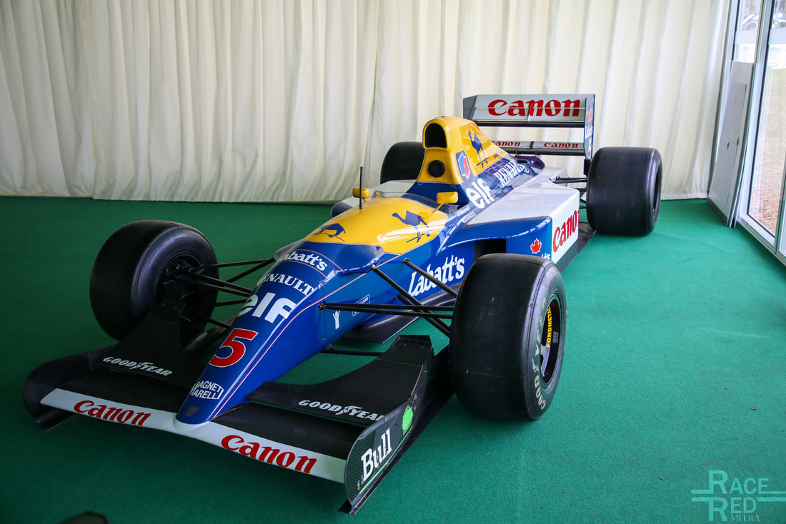 Motoring at the Manor Williams FW14B