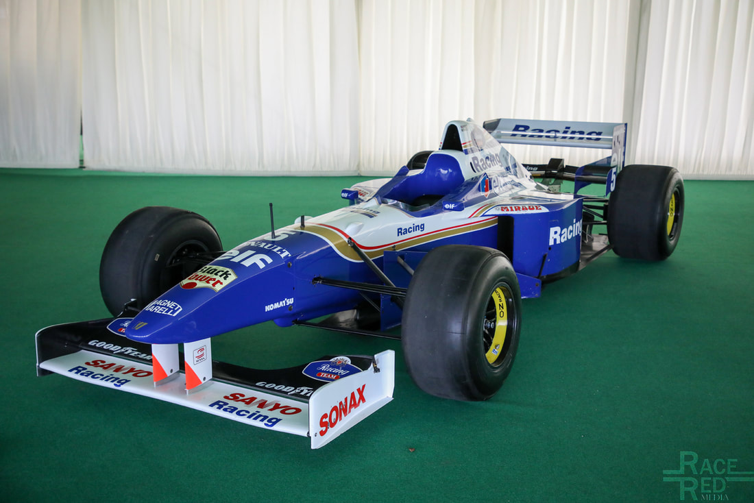 Motoring at the Manor F1 Williams FW18