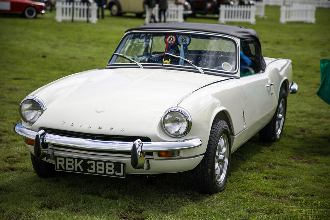 Motoring at the Manor triumph Spitfire