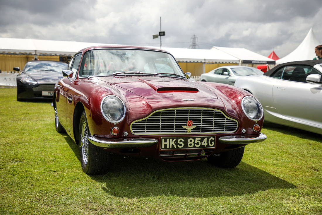 Motoring at the Manor Aston Martin DB6 1969