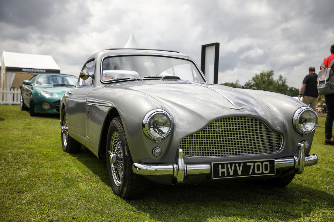Motoring at the Manor Aston Martin DB2/4 1958