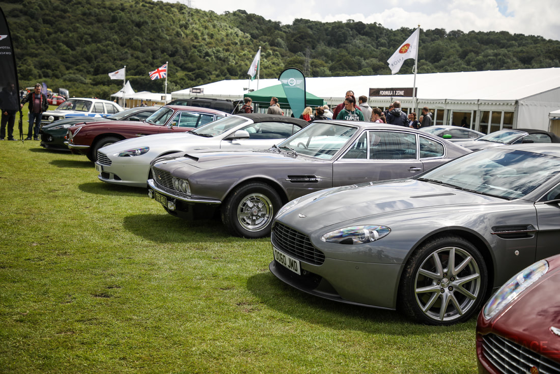 Motoring at the Manor Aston Martin Owners Club