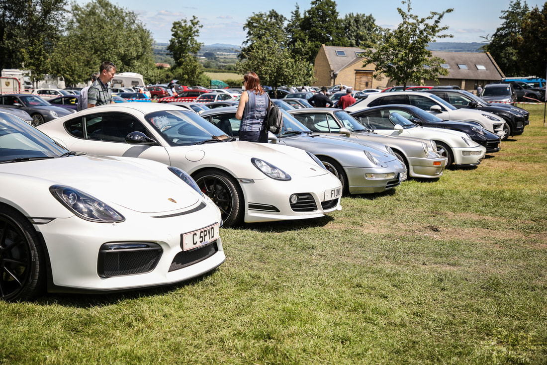 Porsche at Prescott Porsche Club GB