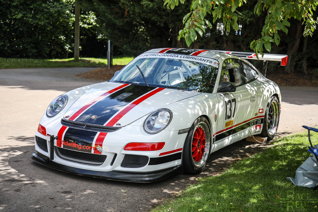 Porsche at Prescott Porsche GT3 Cup Peter Turnbull