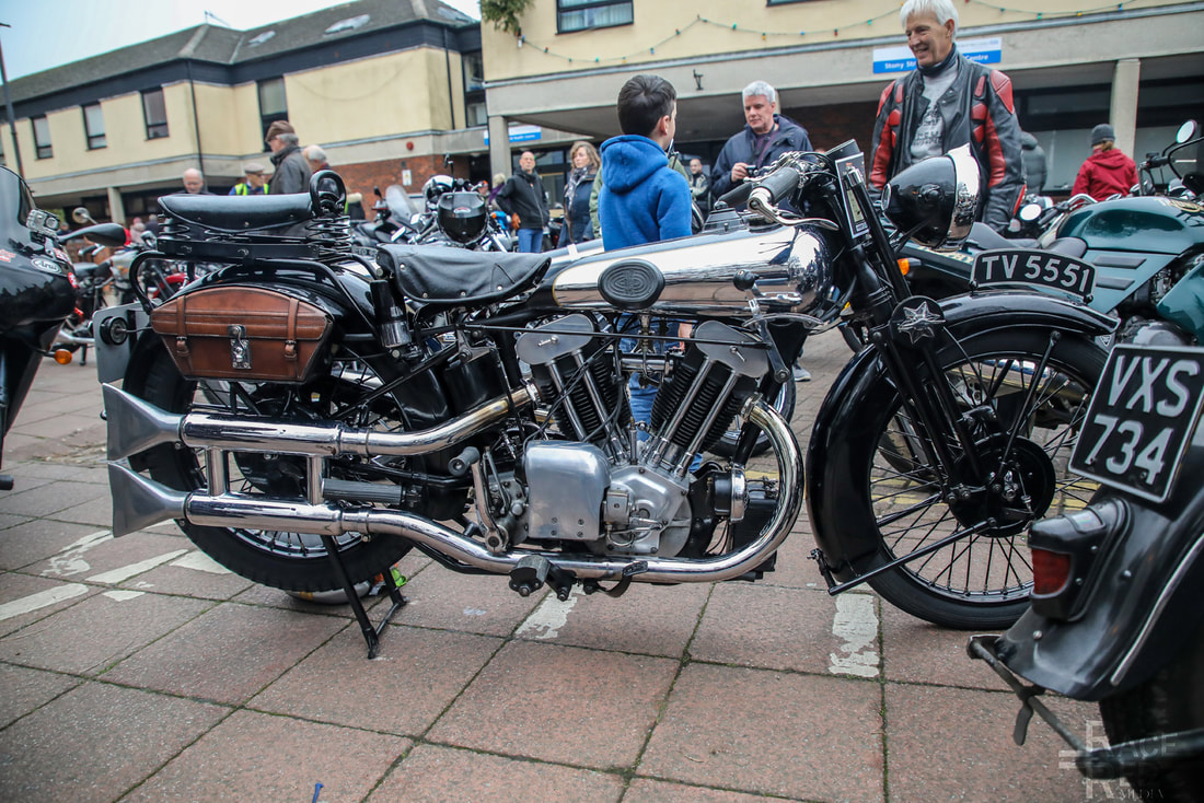 TV 5551 1931 Brough Superior SS100 988cc Vintage Stony 2019
