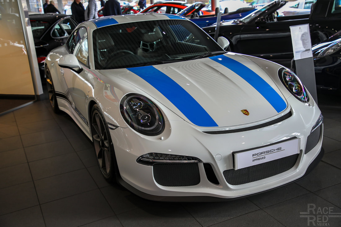 Porsche and Pancakes Nottingham Porsche 911R
