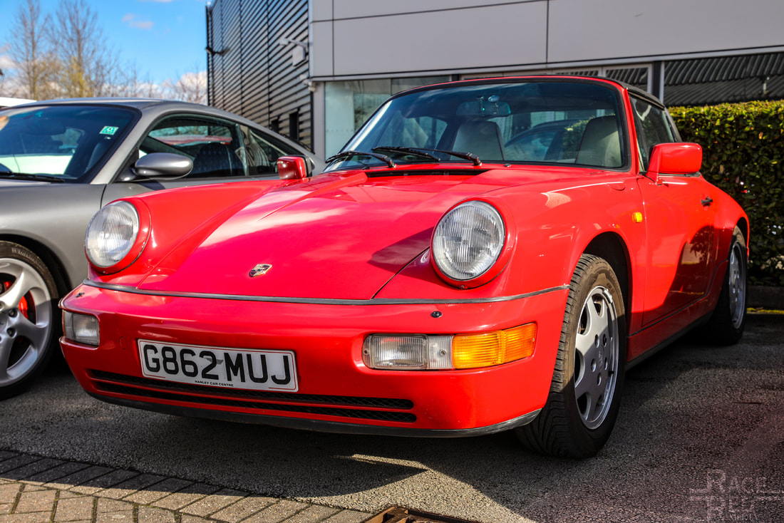 Porsche and Pancakes Nottingham Porsche 964