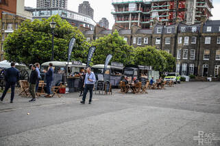 London Concours food