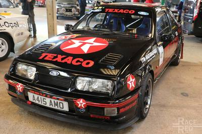 A415 AMO 1984 Ford Sierra L (Cosworth Replica) at Race Retro  Stoneleigh Park, Warwickshire 24th February 2018