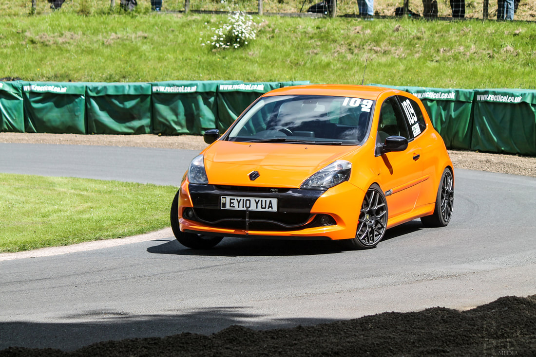 Prescott Hill Climb Renault Clio RS200 Mark Puddle