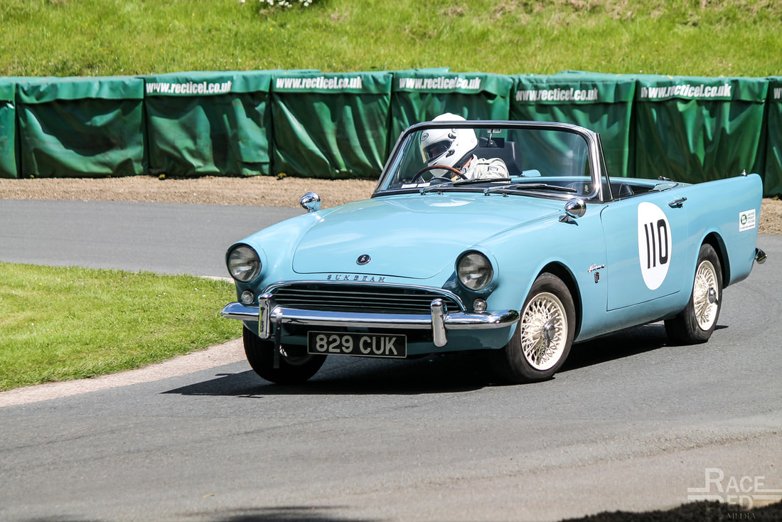 Prescott Hill Climb Sunbeam Alpine Series 3 Simon Firth-Bernard